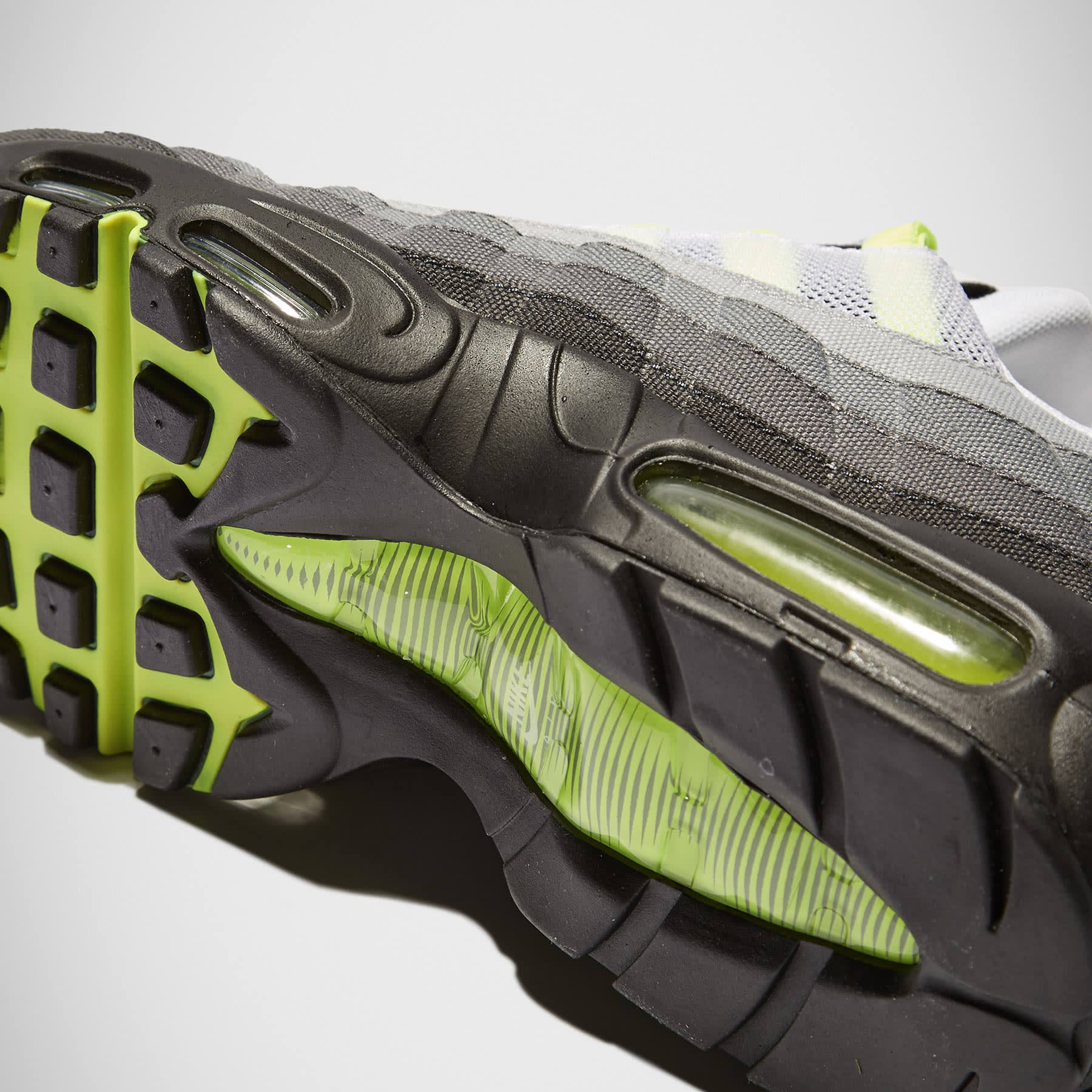 brand new b27d3 9c044 Nike Air Max 95 V SP  Patch  White, Neon Yellow   Black   END.