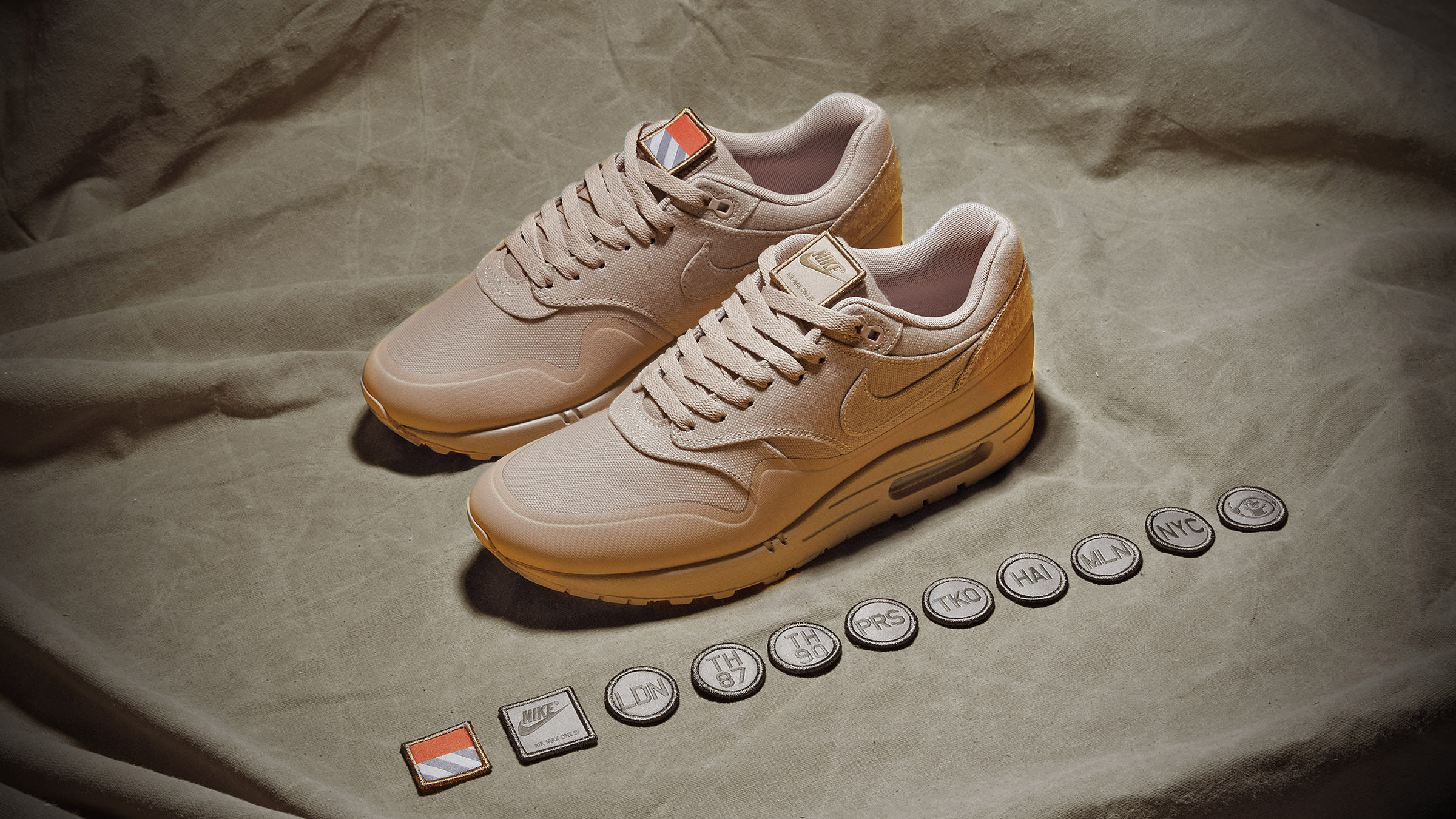 f86cfa926a Nike Air Max 1 V SP 'Patch' Sand | END.