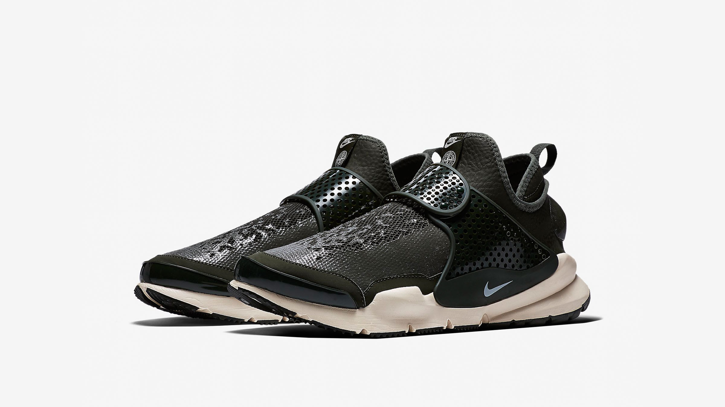 info for 6170c 63529 Nike x Stone Island Sock Dart Mid