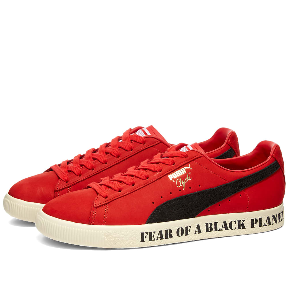 Puma x Def Jam Clyde High Risk Red