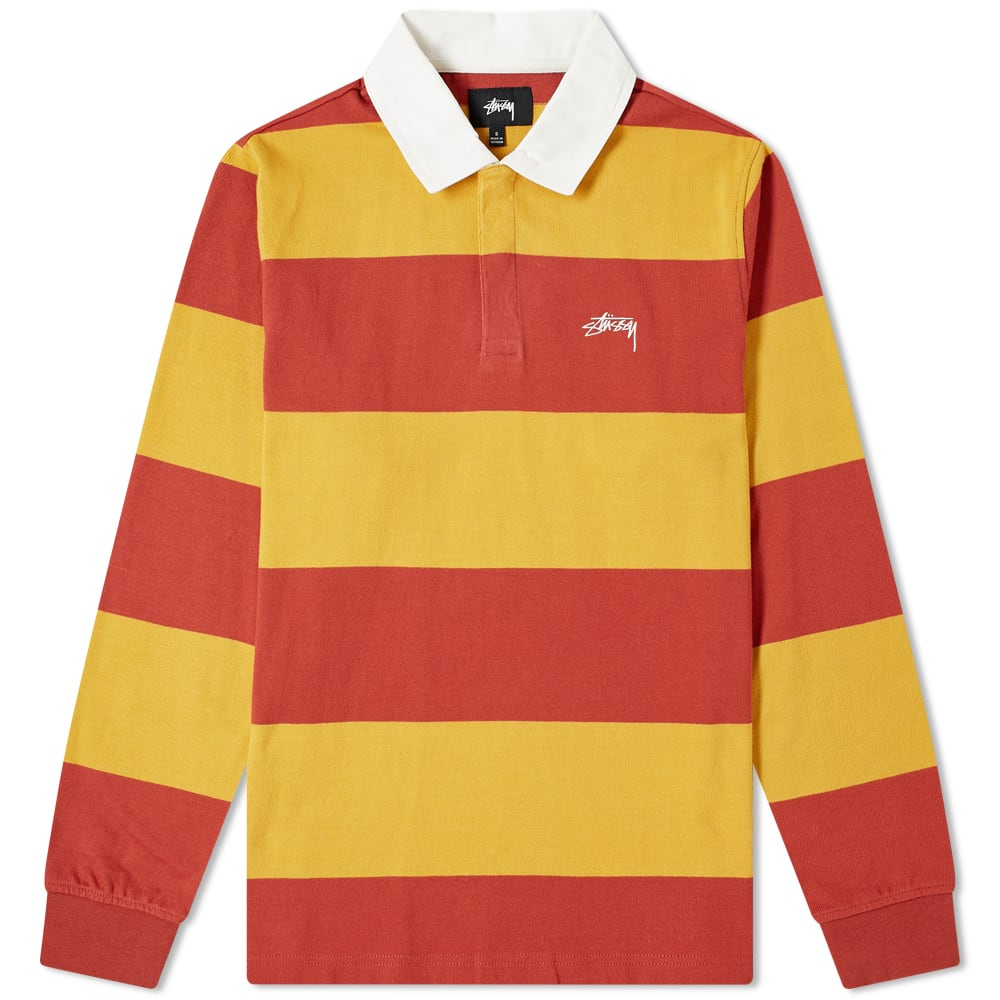 Stussy Long Sleeve Clic Stripe Rugby