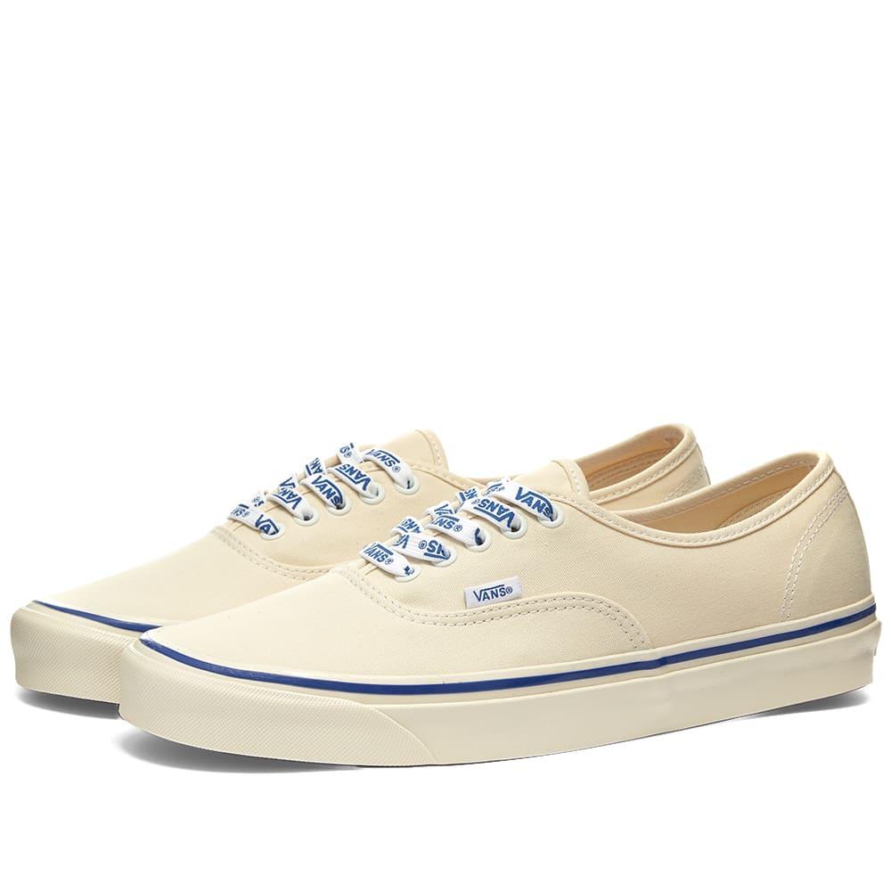 Vans Authentic 44 DX Lace White \u0026 Vans