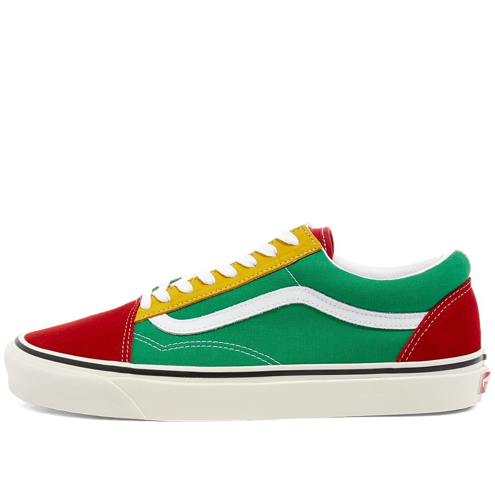 Vans Old Skool 36 DX Red, Emerald