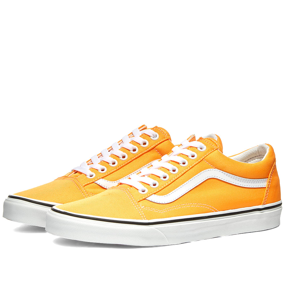 vans old skool orange