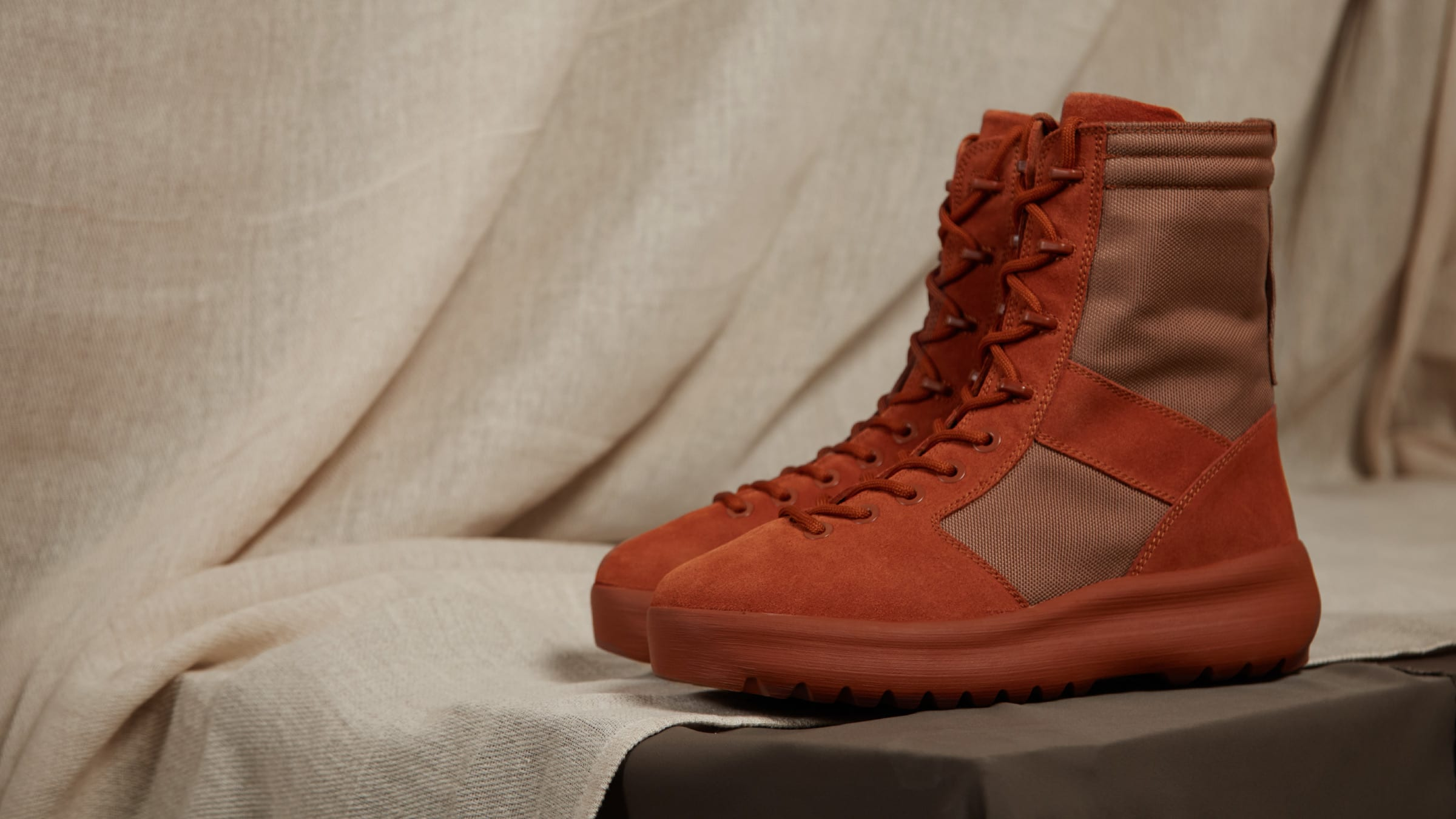 1bfd786d63a28 Yeezy Season 3 Military Boot Burnt Sienna