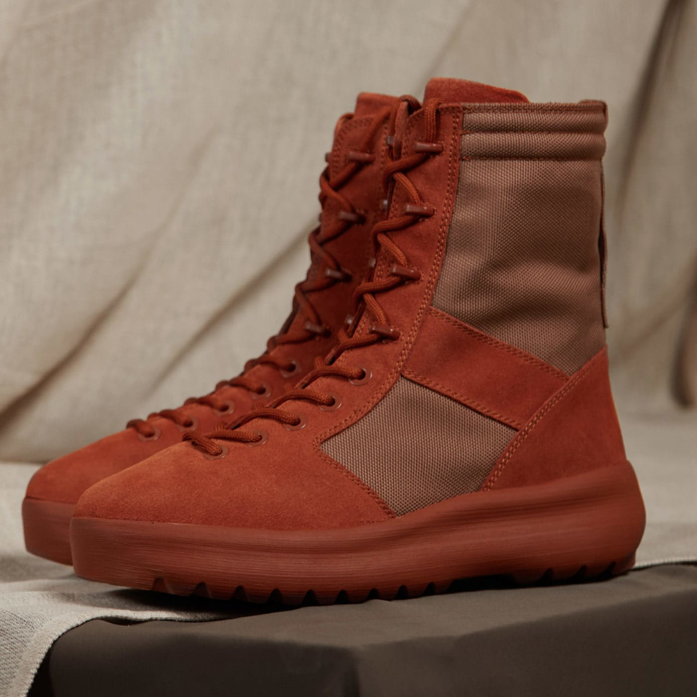 93c6c4e17 Yeezy Season 3 Military Boot Burnt Sienna