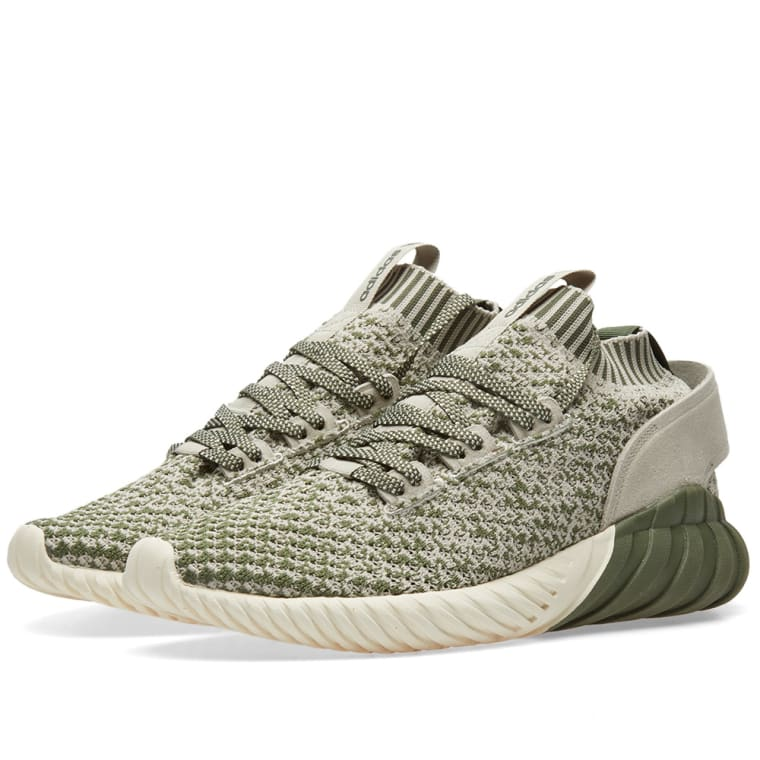 adidas Tubular Doom Sneakers with Leather Gr. UK 9 OZ1CmYXD