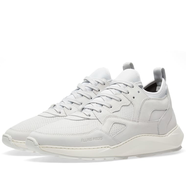 Origin low arch runner sneakers - White Filling Pieces 0fE3j