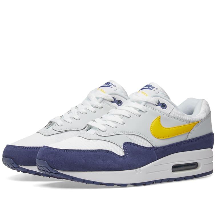Max Blue Tour 1 Nike End Air Yellow amp; white paOWgq