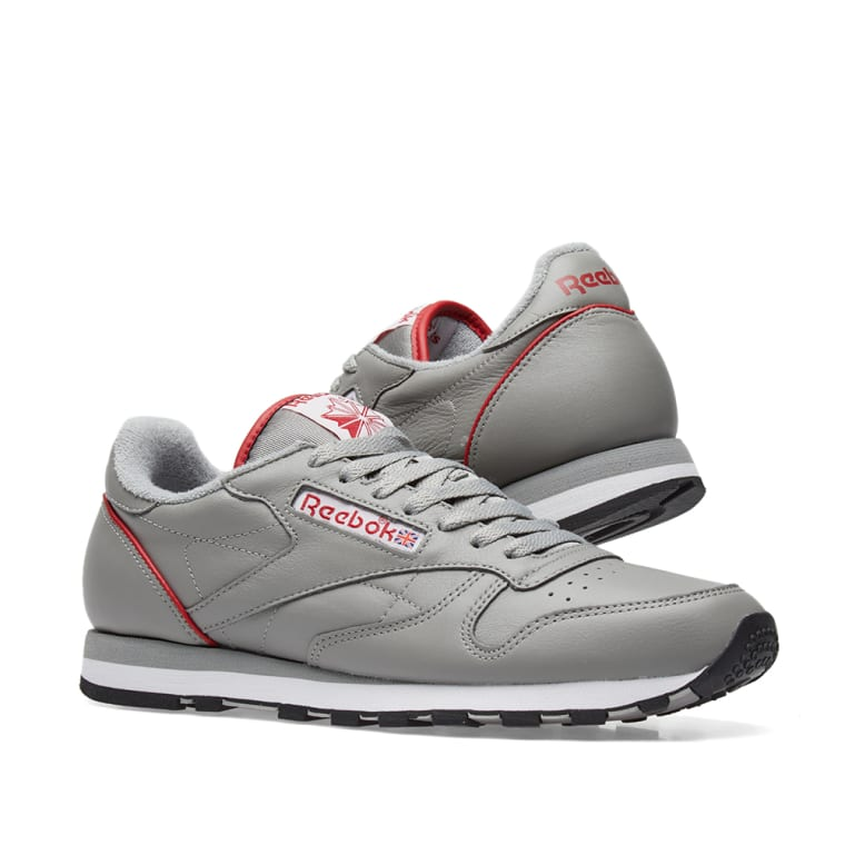 799800cb61d grey End Pack Reebok Red Archive Classic Leather amp  White Power PzzxwI1q