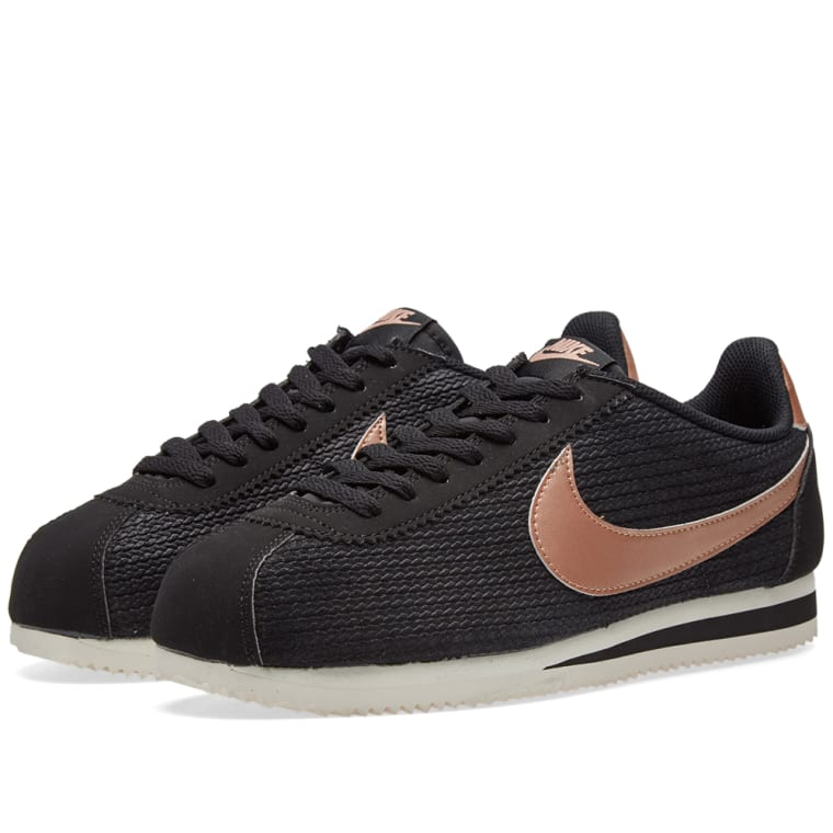 Cortez black Classic amp; W Lux Nike Bronze Red Leather End qfSx4vEw