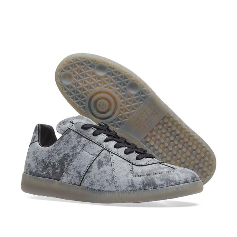 Maison Margiela Grey & Reflective Replica Sneakers ltiiV