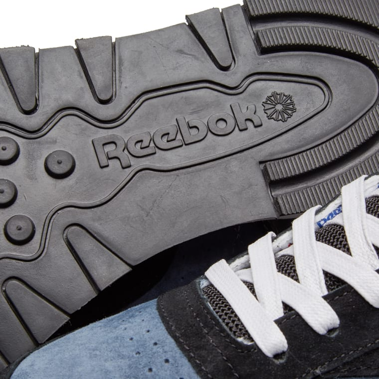 new style 6a212 aef2f X Classic Garbstore Blue End midnight Reebok Leather amp  Black T1FnxFqUd
