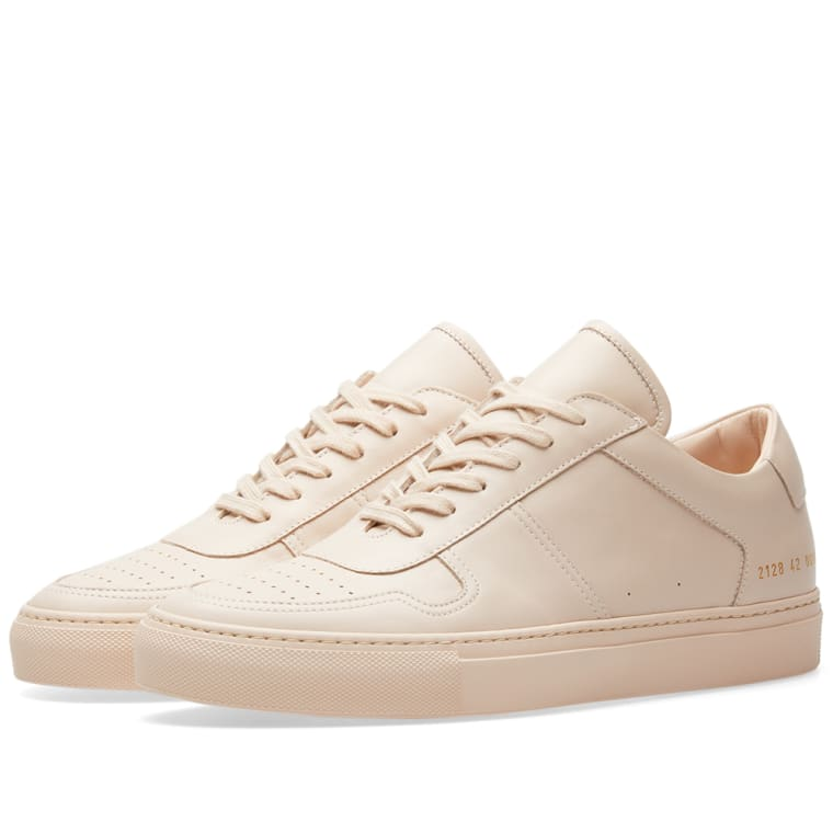 Common Projects Grey B-Ball Low Sneakers ojWqqctBZ