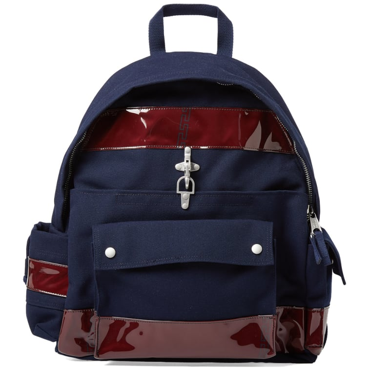 RAF SIMONS Navy Eastpak Edition Functional Backpack Discount Ebay laLxIM0Qk