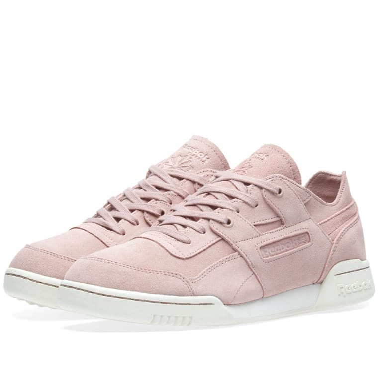Reebok Workout Lo Plus FBT W chaussures shell pink quXejwpi