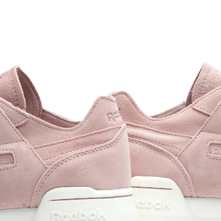 Chalk amp; Sandy W Workout Fbt End Rose Pink Reebok Lo shell Plus vzwqTB