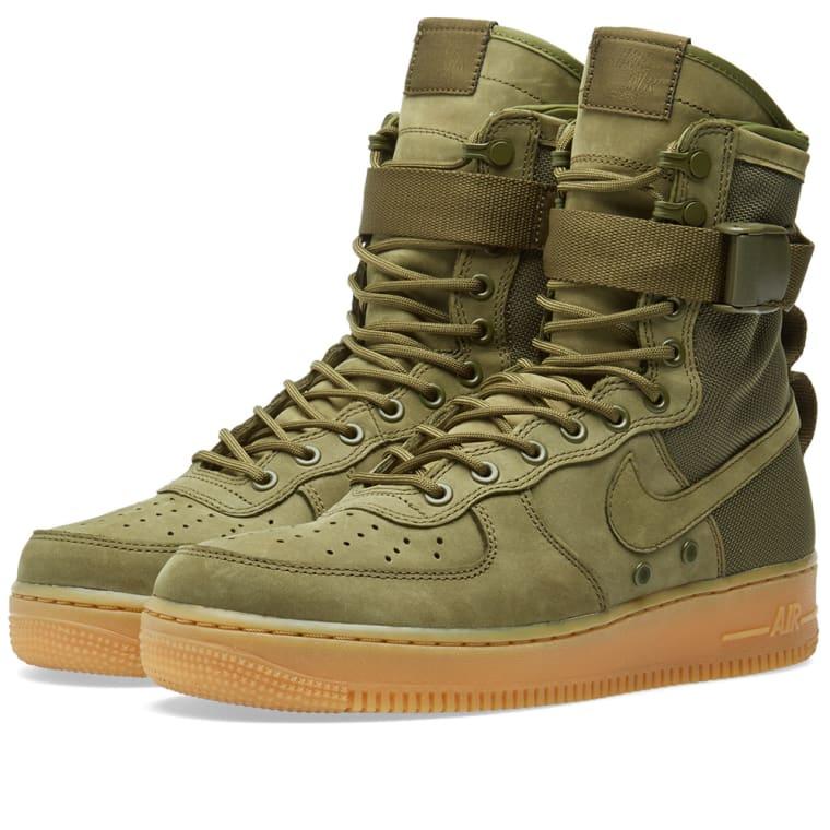 1 High Womens Air Force Nike Olive 34L5RjAq