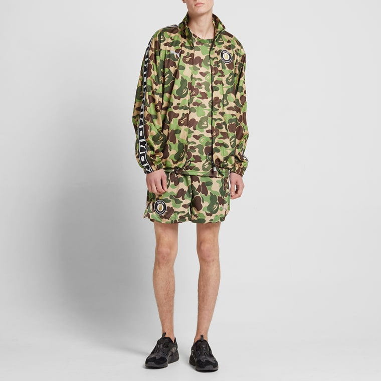 f10b8c7185cc Camo Jacket Bape X abc Training End Puma qUXx8X
