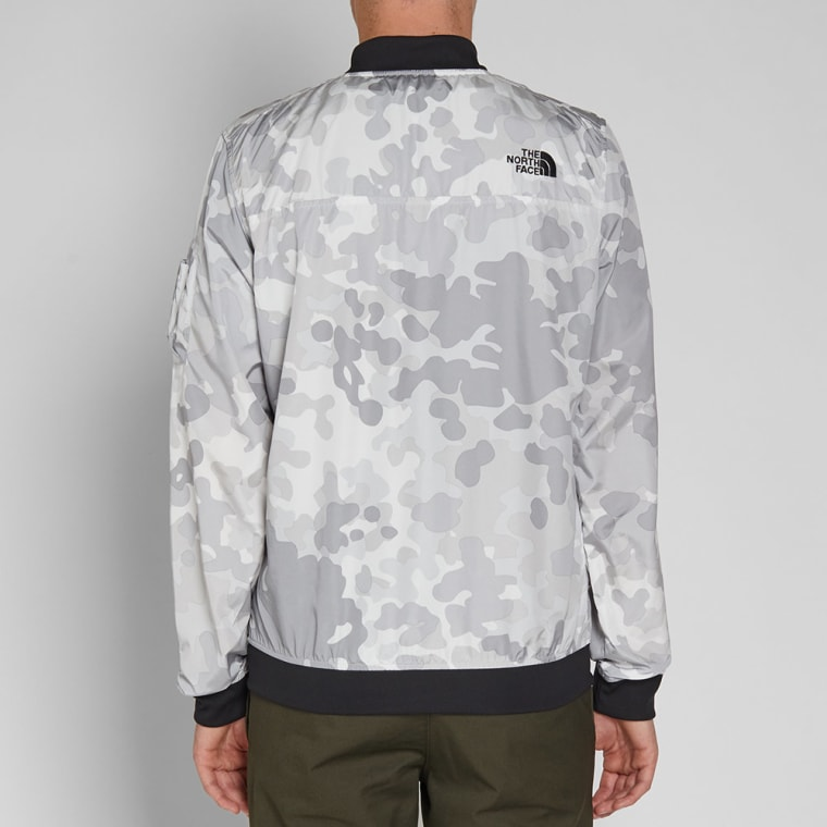 Camo End Face North Meaford white Bomber The Jacket Hvgqpw