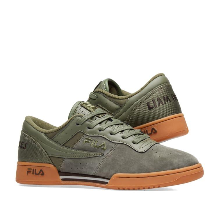 NikeX Fila Original Fitness Suede Sneakers Vente Nicekicks ZEzmCz