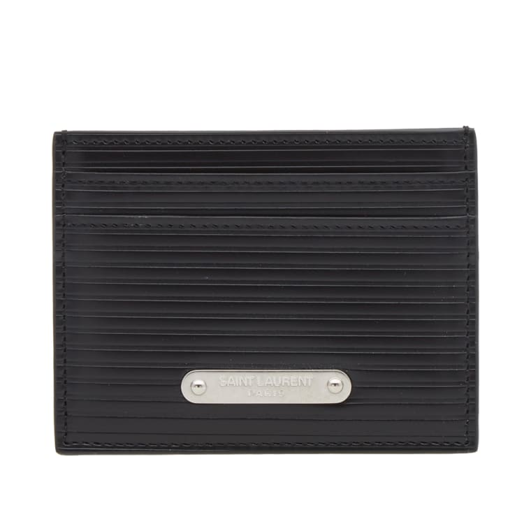 Cheap Price Outlet Sale Saint Laurent ID cardholder Eastbay Cheap Price Clearance Reliable Clearance Pay With Paypal N3bt0FlL