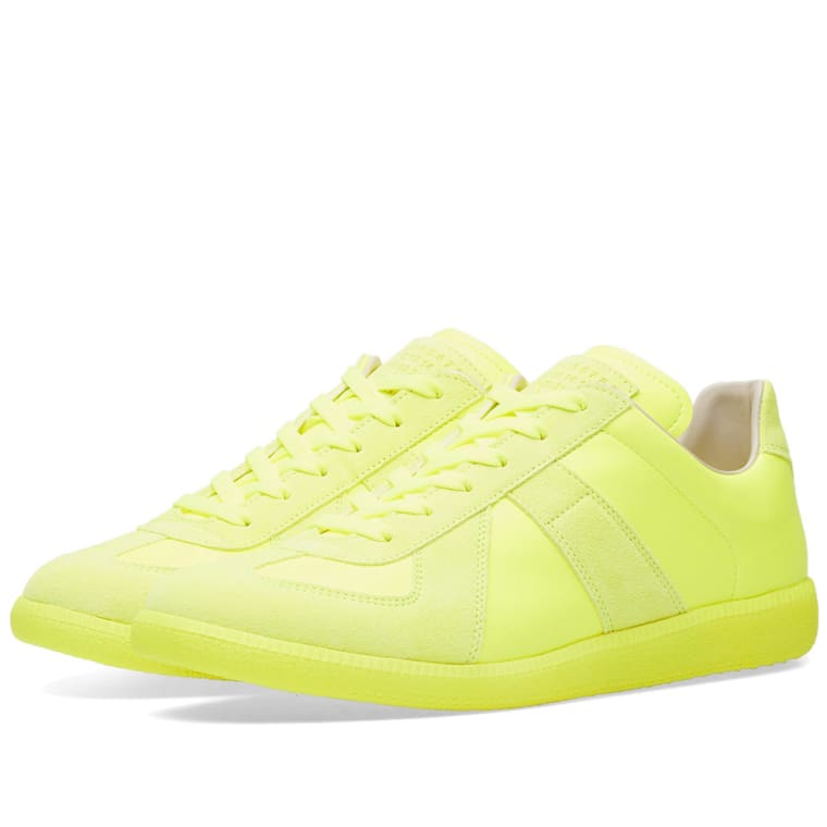 Maison Margiela Fluo Replica Sneakers bWXqEg