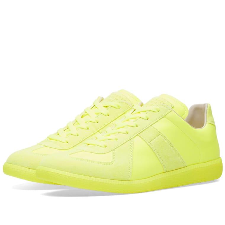 Maison Margiela Fluo Replica Sneakers Best Place Online 96uZrAqfls