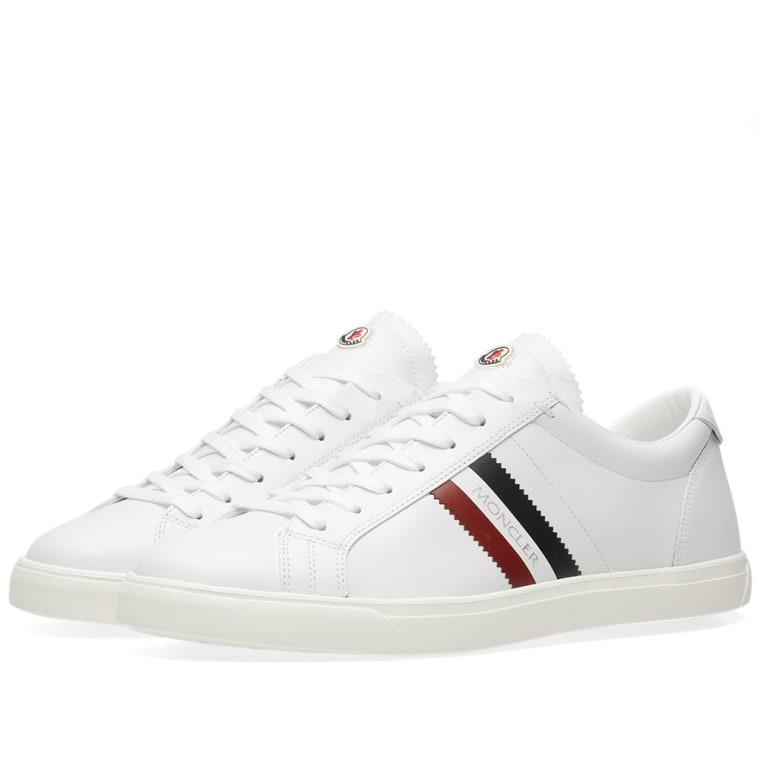 Moncler White La Monaco Sneakers TIVSIPcS4F