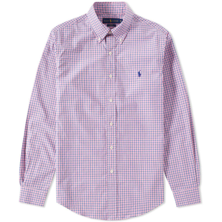 Code For Ed7e1 White Shirt B0fe1 Lauren Coupon And Pink Ralph Checkered bYgf76y