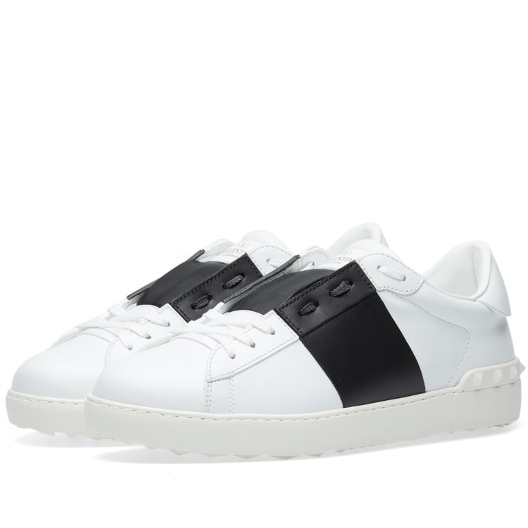 outlet huge surprise geniue stockist cheap price Valentino Open Low-Top Sneakers discount how much outlet clearance store kkEDl4