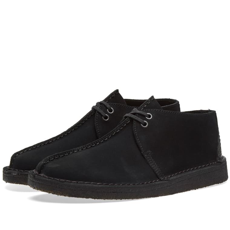 Desert Trek Shoes In Black Suede - Black Clarks fb0LPPtkLi
