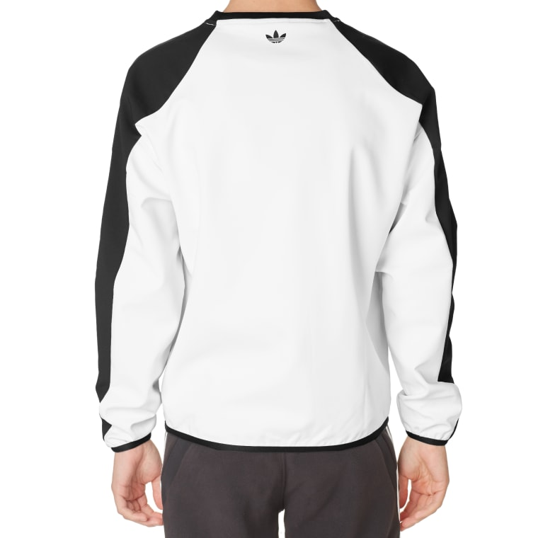 Crew Black X amp; Adidas Multicolour Sweat Palace End Shell white pqwtF