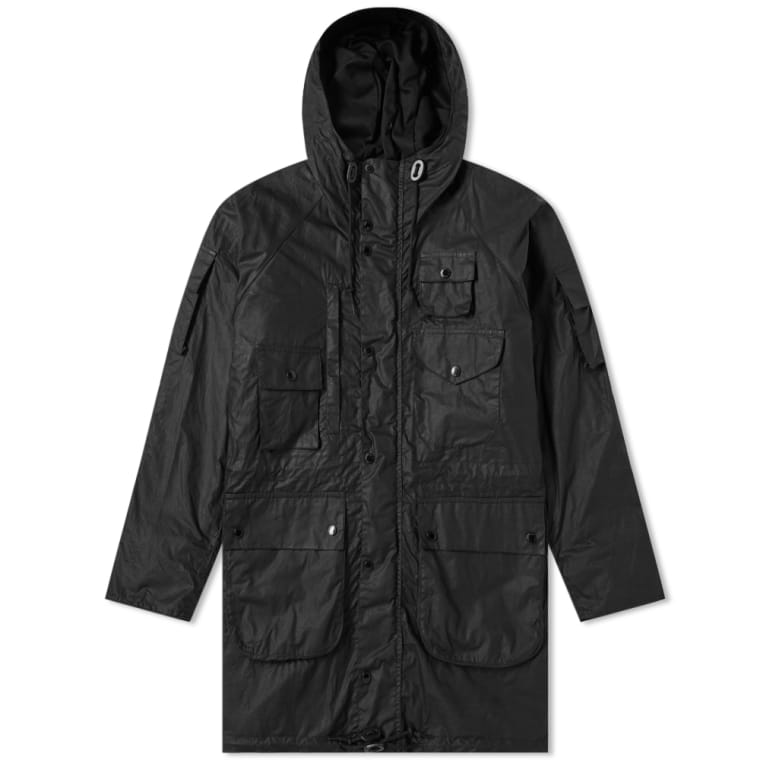 Black Parka Garments 1 Barbour Engineered Zip X qOPvvF