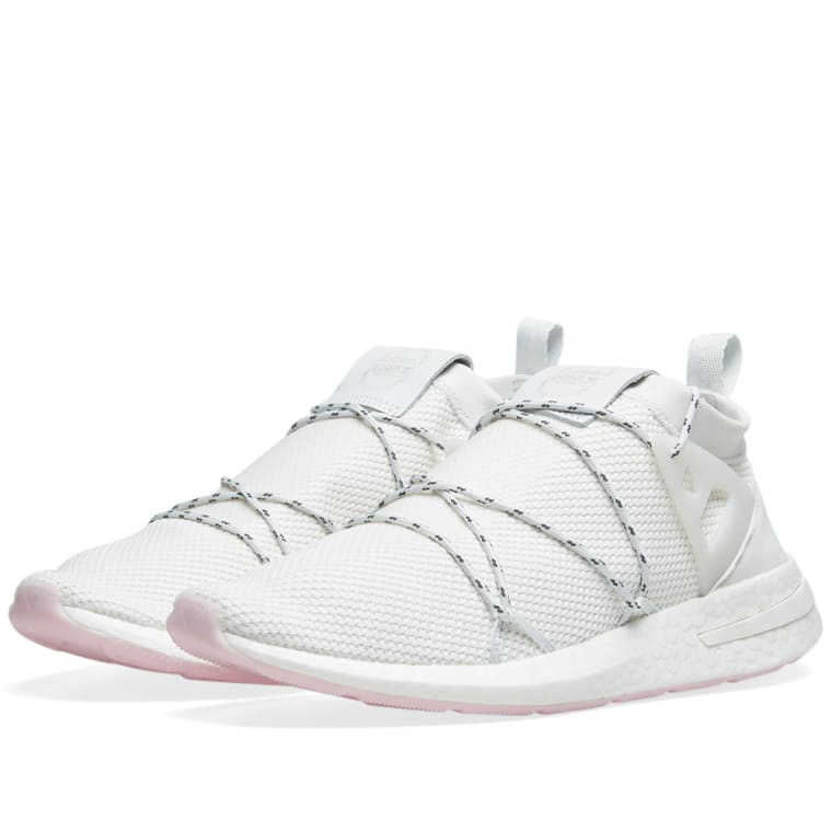 Arkyn amp; crystal Clear End Adidas White Knit W Pink TOqdAxAU