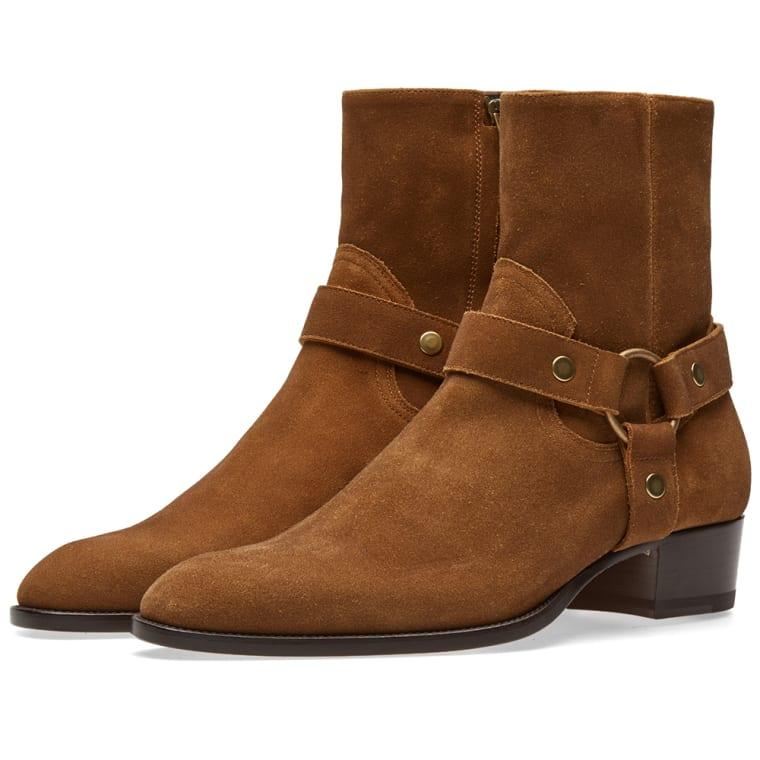 Saint Laurent Suede Boots D5oWNnBBw