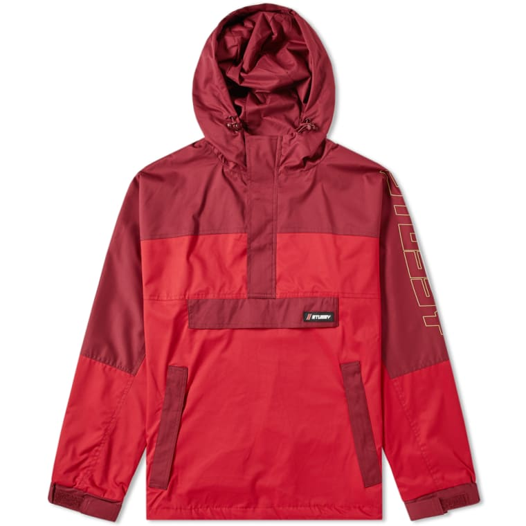 End Stussy Pullover Alpine red Jacket rxaqwza1