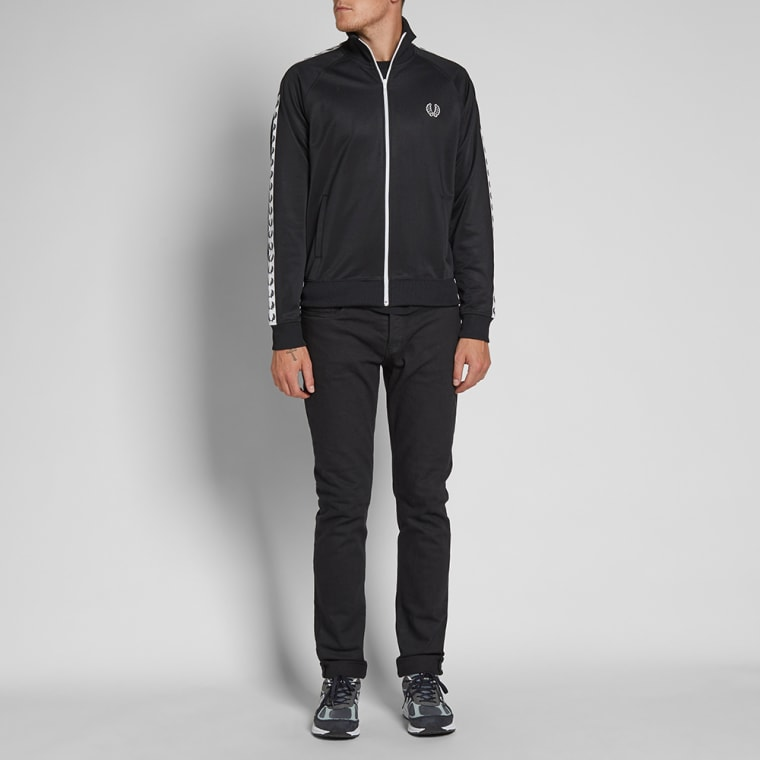 End Laurel Jacket Track Perry black Fred Taped 7RxWg
