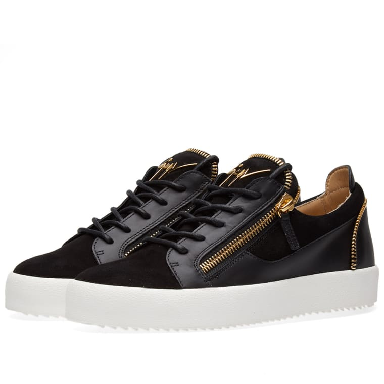 Sneakers for Women On Sale, Black, Leather, 2017, 6 Giuseppe Zanotti