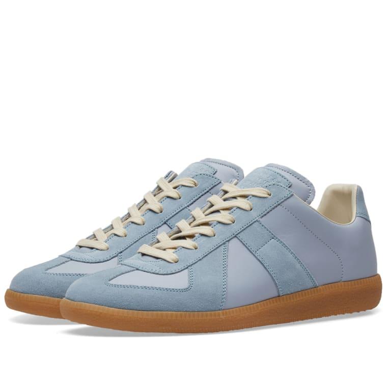 Maison MargielaReplica Leather and Suede Sneakers Gr. EU 41 b6UzQsN