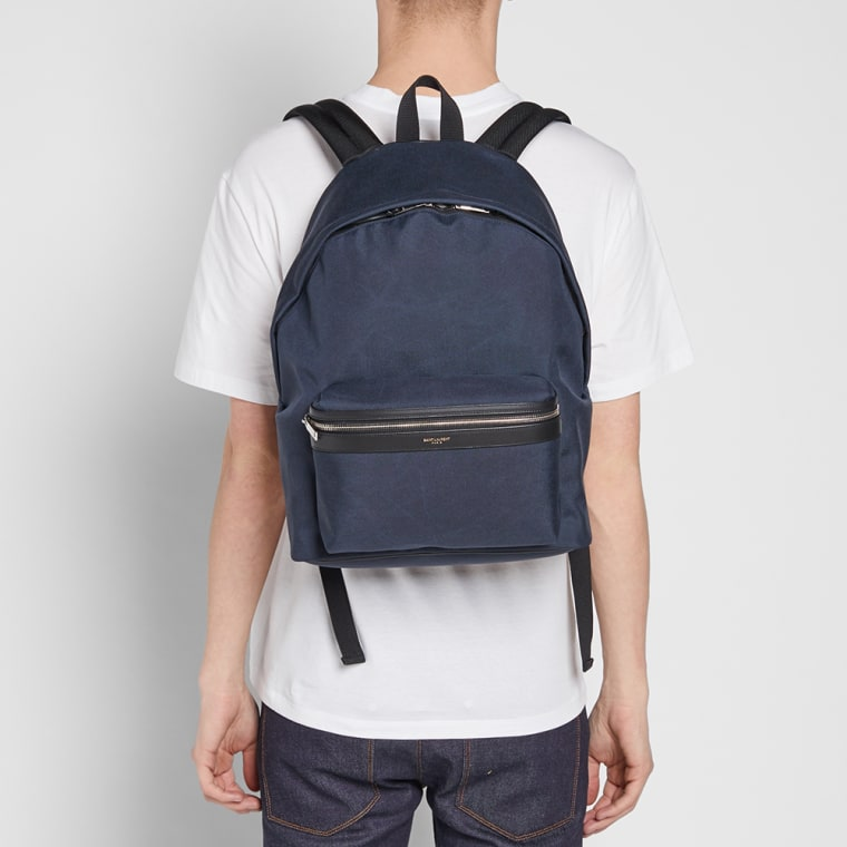 Footaction Cheap Online Navy Canvas City Backpack Saint Laurent Outlet 2018 Clearance Visa Payment Free Shipping Pick A Best V1FlBkNddv
