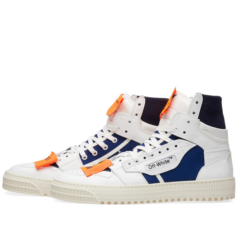 White 3 Sneaker amp; white Off 0 Low End Blue dFSgOxq7n