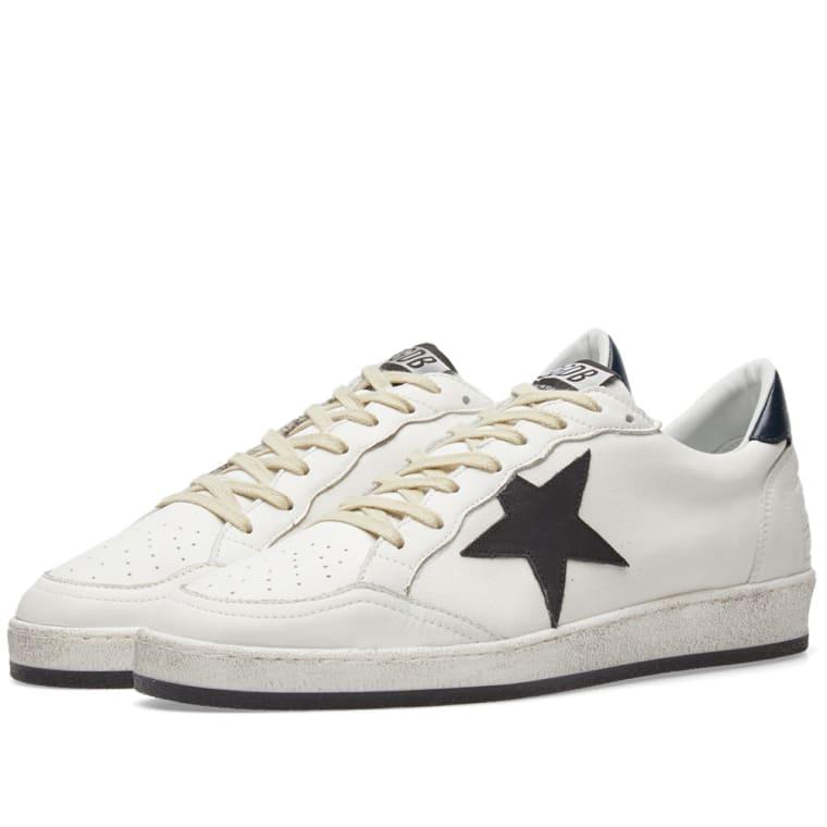 Golden Goose White Signature Ball Star Sneakers cqrTESdSB