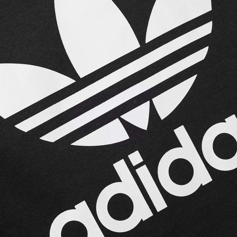 Sweat Adidas Crew End Original Trefoil black PrYtrx