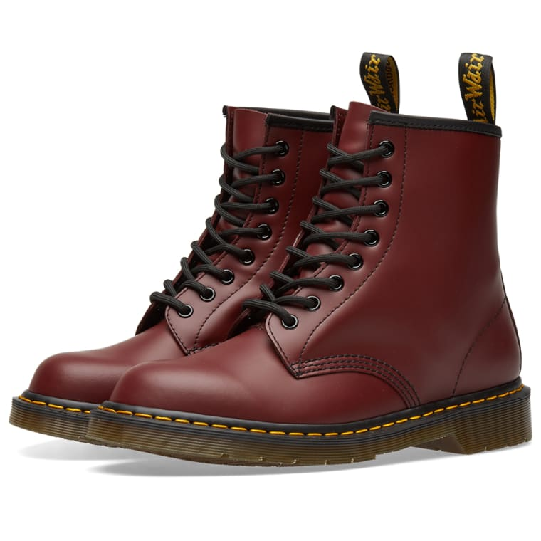 Boot Leather END Smooth 8 Dr Red Cherry Martens 1460 Eye qx1nYTa
