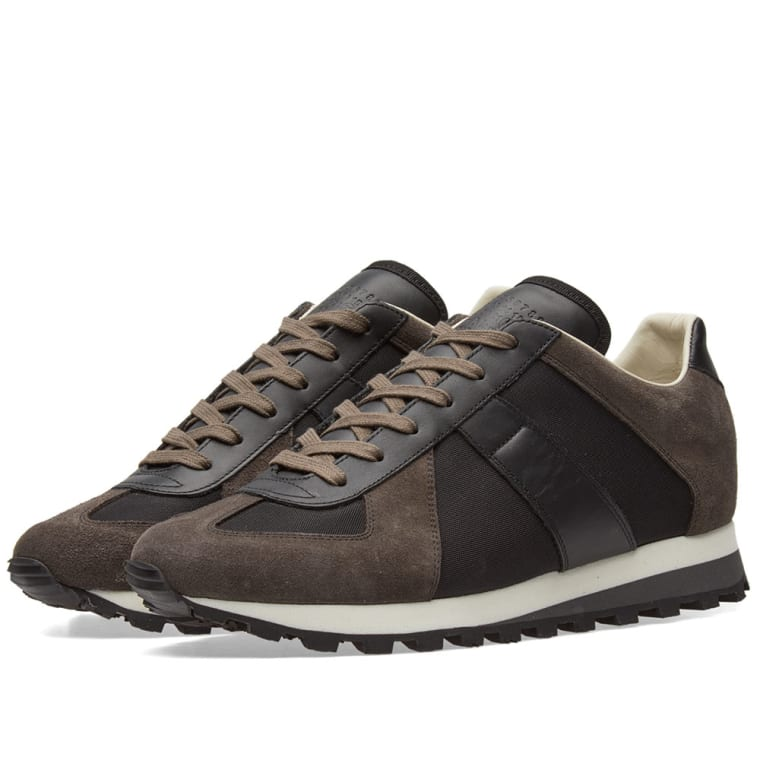 Maison MargielaLeather Replica Runner Sneakers with Suede and Mesh Gr. EU 43 z4uMpb