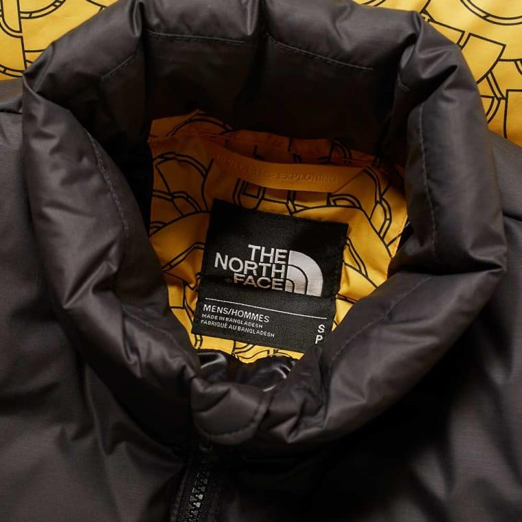 The North Print Yellow Nuptse 1992 END Face Dome Jacket UqdvrwU0 260b2b8aea02