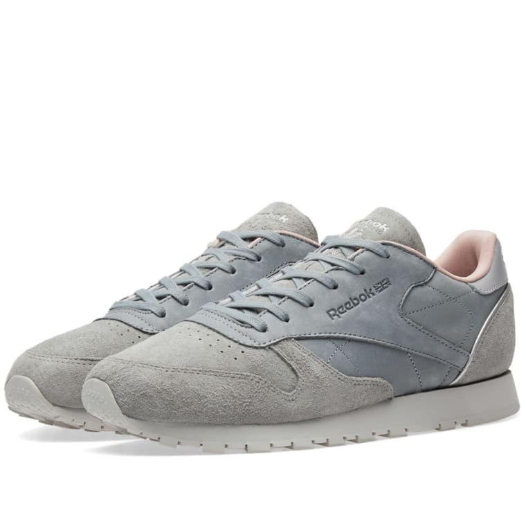 Silver W Reebok 'golden Leather amp; Classic Shell Neutrals' grey Zq46PYFw