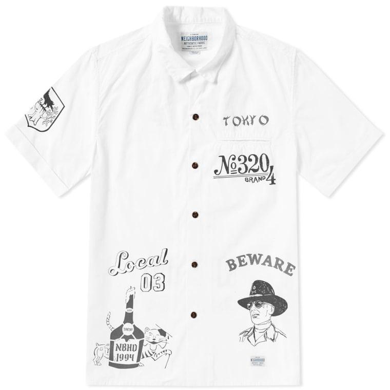 Neighborhood Shirt Men Size L Neighborhood Button Up Shirt Neighborhood Casual Shirt NBHD Japan 6CP3g