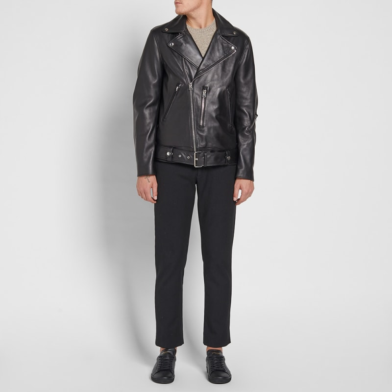 Jacket Leather End Nate Studios Acne Clean black ZHIawq